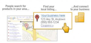 Example of Local Search Marketing and Google Places