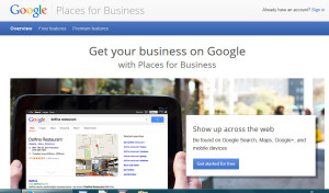 Google Places Signup 300x176 How to Claim Your Free Google Places   GooglePlus Local Listing